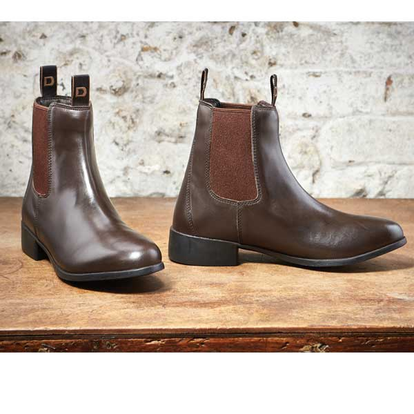 Dublin Elevation Jodphur Boots Brown