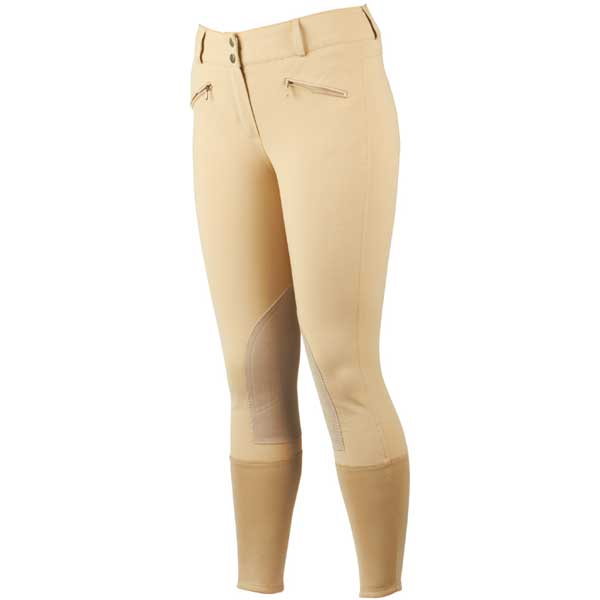 Dublin supa shape it performance euro seat clarino knee patch jodhpurs