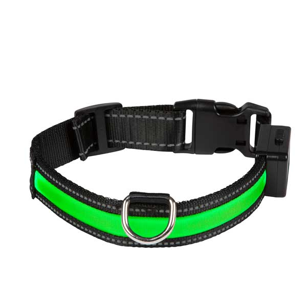 EYENIMAL Light Collar USB Rechargeable Green
